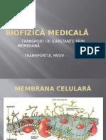 Biofizică medicală