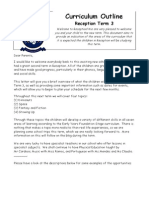 reception term 3 curriculum letter cf