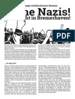 Keine Nazis! Auch nicht in Bremerhaven