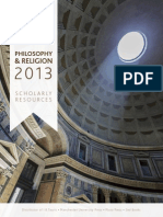 Philosophy-Religion 2013 Web