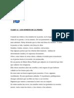 Clase 14 - Los Sonidos de La Poesía