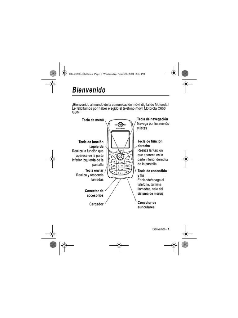 Manual Motorola c650