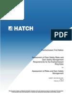 Rapport de Hatch sur létat de la digue de Kashechewan (en anglais)
