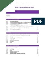 El Pi Programa General Autonòmic