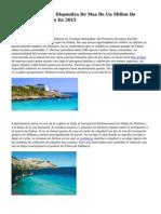 Palma De Mallorca Dispondra De Mas De Un Millon De Euros Para Turismo En 2015