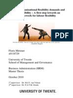 مرونة الموظف والعمل