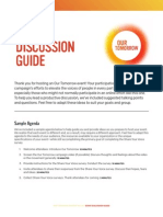 Our Tomorrow Partner Toolkit - Event Discussion Guide