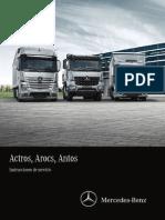 Manual  Actros Antos Arocs Full 2014
