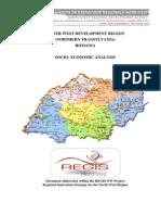 3uppk 116 Ro-RO Analiza Socio-Economica Regiunea Nord-Vest