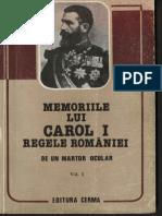 Memoriile Regelui Lui Carol I Vol 01