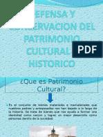 Defensa y Conservacion Del Patrimonio Cultural e Historico(2)