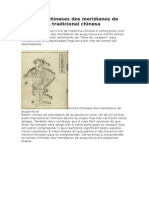 Os Nomes Chineses Dos Meridianos de Acupuntura Tradicional Chinesa