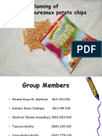 Business Planning of  Ispahani puresnax potato chips