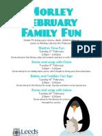 Poster - Morley Feb Fun