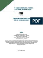 Fundamentación Conceptual Área de Ciencias Sociales