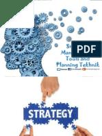 Strategic Management, Tools and Planning Tekhnik