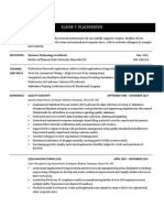 Resume for Webpage - Copy