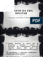 A Filosofia e Sociologia na Ditadura Militar