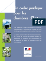 Brochure Chambres Hotes