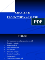 Chapter 11 Project Risk Analysis