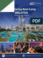 2012 GIST Malaysia Boot Camp Brochure