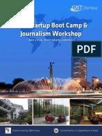 2012 Jakarta GIST Boot Camp Brochure
