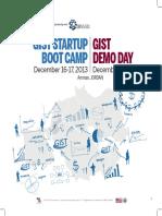 2013 Jordan GIST Boot Camp Brochure
