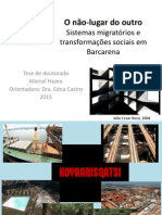Não-lugar Do Outro Sistemas Migratórios e Transformações Sociais Na Amazõnia