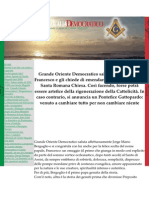 MAÇONARIA ITALIANA ELEGE O NOVO PAPA FRANCISCO.docx