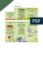 Leaflet Tanda Bahaya Nifas Yusmen dan Yanto Seran