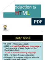 Lecture HTML