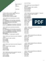 Teste Pentru Examenul La Stomatologia Pediatrică În Anul de Studii 2010-2011