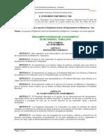 Reglamento Interior Del Ayuntamiento