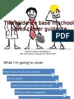 The Evidence Base in Career Guidance