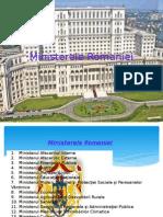 Ministerele Romaniei