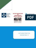 Actividad Práctica Asignatura 15 PRL