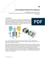 Understanding the Vanadium Redox Flow Batteries