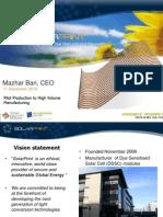 SolarPrint Presentation