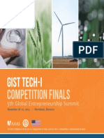 2014 GIST Tech-i Marrakech Brochure