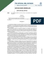 Ley Orgánica 4/2015, de Seguridad Ciudadana (BOE 31-3-2015)