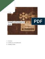 Samplephonics 808 Manual