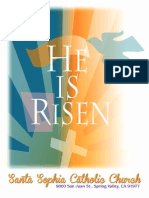 Bulletin for Easter Sunday, April 5, 2015