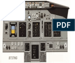737 NG Instrument Panel PFD ND