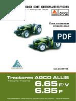 Manual de partes serie  AA6.65-85 V-F