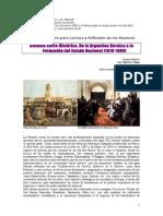 2. 1. Síntesis Socio-histórica 1810-1880. Yépez 2014