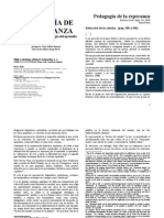 109 - Freire, Paulo - Pedagogía de La Esperanza. Selección de La Cátedra. (Pág. 100 a 102)
