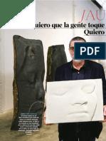 Jaume Plensa 22-03-15 Xl Lay