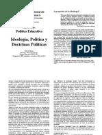 Anexo Unidad 1 -Berias, Marcelo - Ideología, Política y Doctrinas Políticas