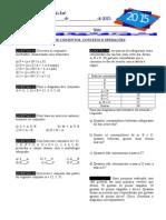 Exercícios Conjuntos - Matemática 1º Ano Em