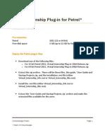 Installation Guide.virtual Internship Plug-In for Petrel 2011.1